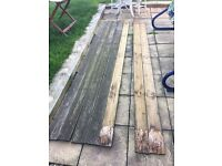 Decking for sale x 11 3m planks