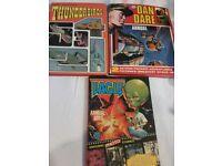 3 Annual Bundle:Eagle 1983, Dan Dare 1984, Gerry Anderson's Thunderbirds