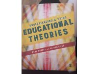 Understanding and using educational theories Textbook