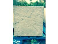 Paving Slabs 100 x 450x450 Yorkstone Pattern(new).