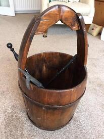 Wooden Water bucket