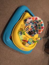 Baby Walker with activity toys