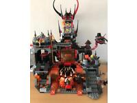 Lego nexo knights castle and figures