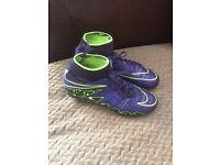 Boys hypervenom sock football boots