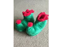 Baby slippers - size 6