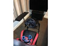 Logitech G920 Driving Force Steering Wheel and Pedals XB1/PC