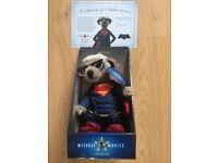 Meerkat Sergei as Superman with Certificate