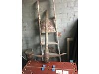 Used Wooden Pick Axe call me for info