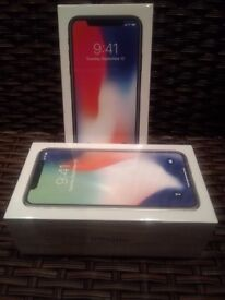 Apple iPhone X 64GB Silver EE network still in Box