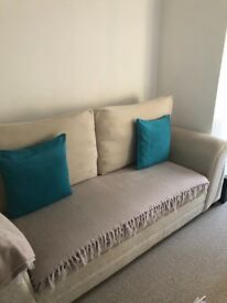 Next 3 seater sofa bed, folds out to double bed
