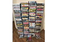 500 Approx Dvds,Games etc