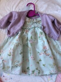Baby girl dresses 0-3m