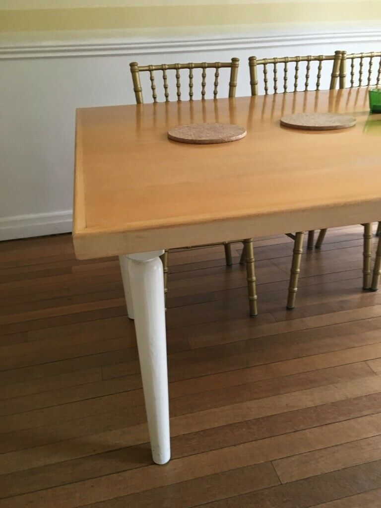 Table Top Seats 10 12 Solid Honey Coloured Wood