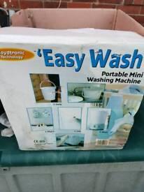 Easy wash travel Camping plugin washer £50
