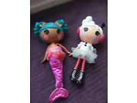 Lalaloopsy dolls great condition from smoke and pet free home