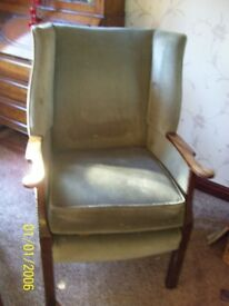 Origial wing back chair
