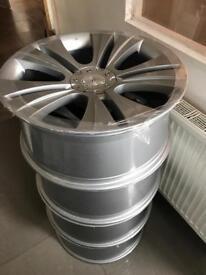 """Team dynamics 22""""alloy wheels"""