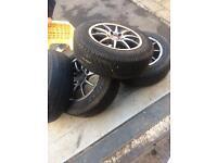 Td5 / BMW / traffic alloy 5 stud weels