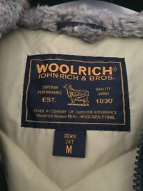 Original Woolrich winter jacket - fur lined and very warm