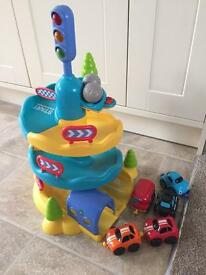 ELC whizz mountain and cars