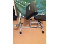 GYMANO Preacher Arm Curl Weight-Training Bench