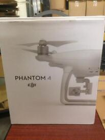 Phantom 4 drone with 3 batteries