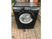 Hoover Washing Machine Black