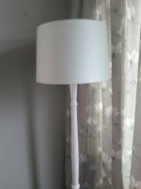 lamp with laura ashley hedgerow shade.