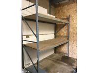 HEAVY DUTY COMMERCIAL WAREHOUSE GARAGE SHOP PALLET RACKING BAY UNIT