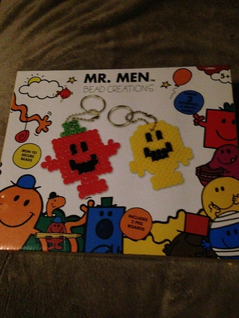 New Mr men make your own keyrings