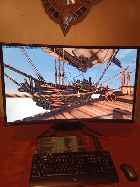 ACER PREDATOR 32 INCH CURVED 144HZ G-SYNC GAMING MONITOR | in Southside,  Glasgow | Gumtree