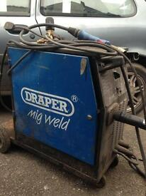 DRAPER PROFESSIONAL 180 AMP MIG WELDER