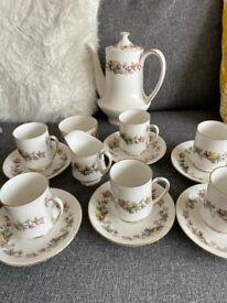 China Tea Set - Royal Standard Lyndale fine bone China Tea/Coffee 15 piece set