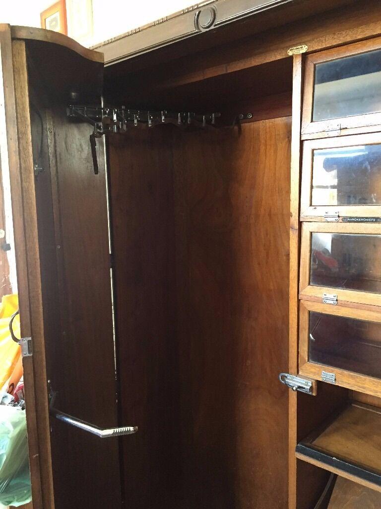 Preloved Bedroom Furniture Hunter And Smallpage Vintage Gentlemans Wardrobe Well Preloved