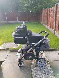 Icandy apple 2 pear pram used 5 times.! With receipts. BARGAIN!
