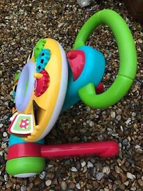 Baby activity walker