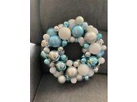 Christmas wreath x2
