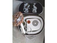 Vintage Russel hob's escort 2000 hair dryer. +case.