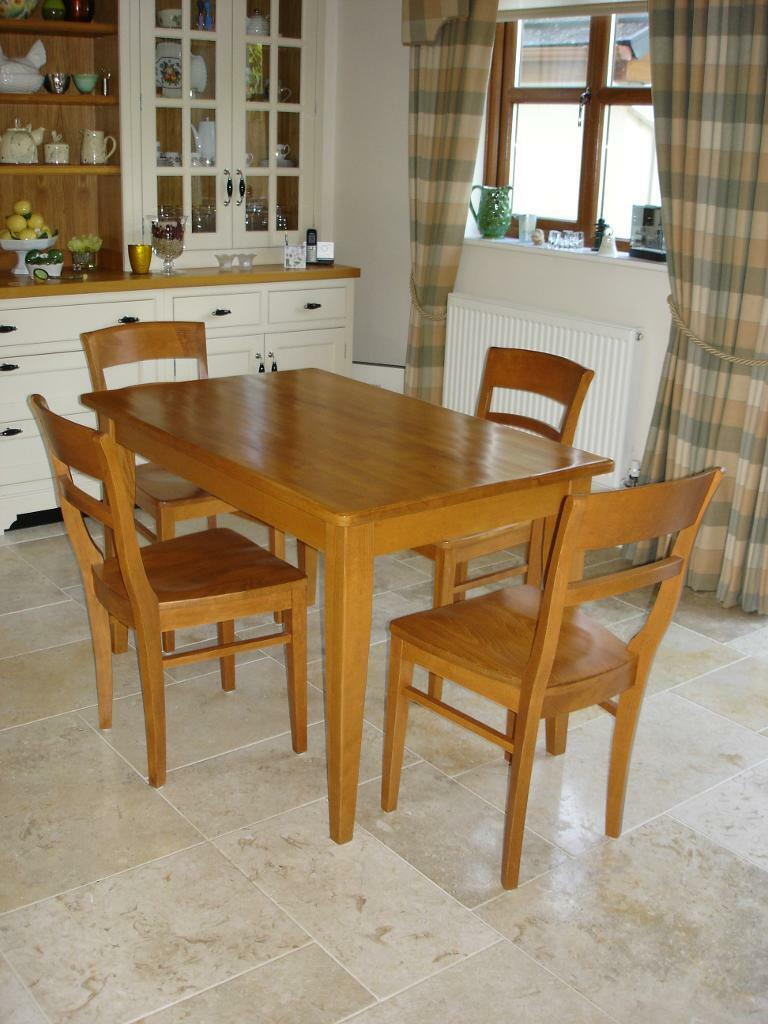 For Sale John Lewis Solid Wood Kitchen Dining Room Table