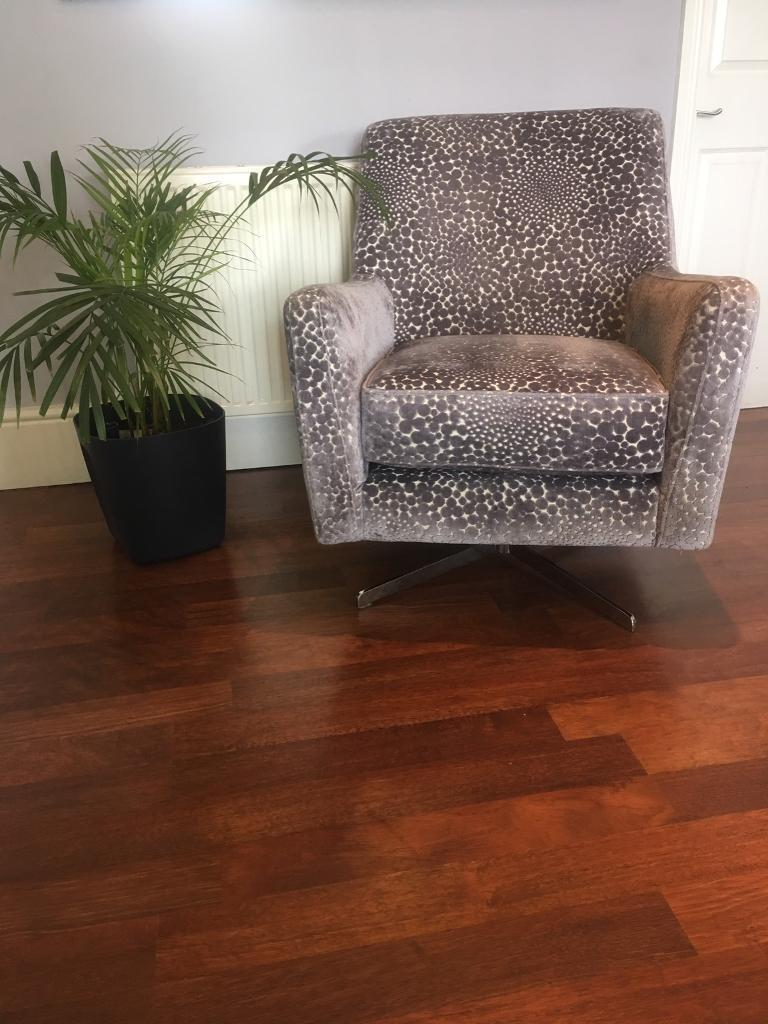 brand new dfs sophia patterned accent chair in prenton merseyside