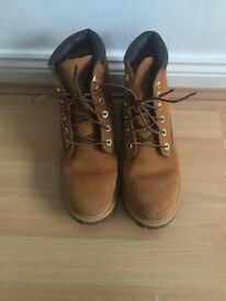 Genuine timberland boots size 6