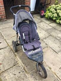 Out n about - single pushchair