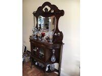 Antique chiffonier / display cabinet