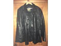 Leather Jackets x 2 - Ben Sherman & Kartel