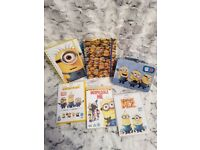 Minions Notebooks, Tin & DVDs