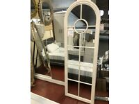 NEW Tall arched grey window mirror ONLY £139 in stock now MIR-10G pics 1 & 2