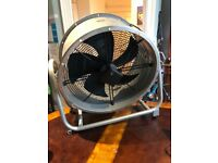 Large extraction fan