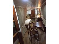 31ft CANAL NARROW BOAT IN WEST LONDON WITH EXCLUSIVE LIVEABOARD MARINA MOORING
