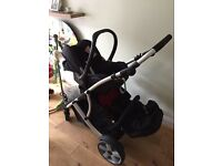 Dimples duo pushchair