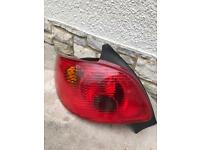 Rear left Peugeot 206 brake light